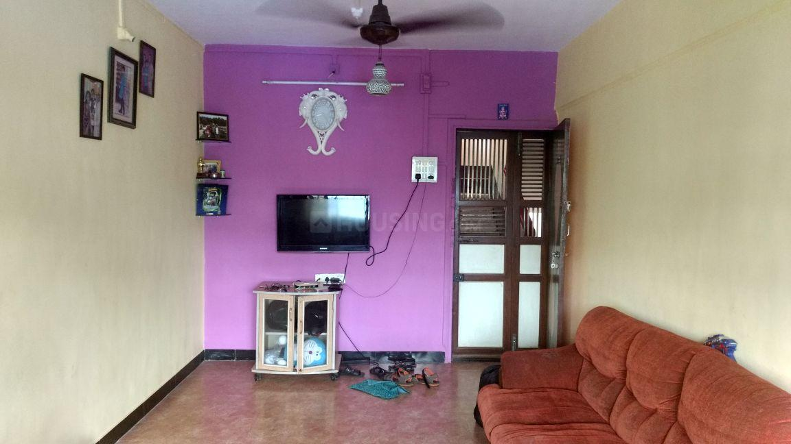 Living Room Image of 560 Sq.ft 1 BHK Independent House for rent in Thane West for 17000