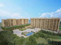 Gallery Cover Image of 1066 Sq.ft 2 BHK Apartment for buy in Goel Ganga Ganga Amber II, Tathawade for 6100000