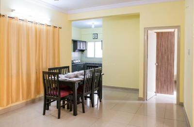Dining Room Image of Krishneel Kuteer Apartments in Mahadevapura