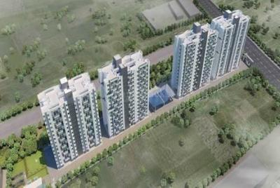 Gallery Cover Image of 580 Sq.ft 1 BHK Apartment for buy in Benchmarrk Kairosa Cluster A, Punawale for 3450000