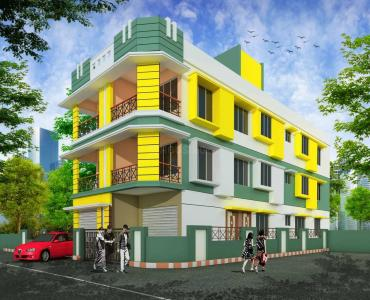 Gallery Cover Image of 532 Sq.ft 1 BHK Apartment for buy in Garia for 1650000