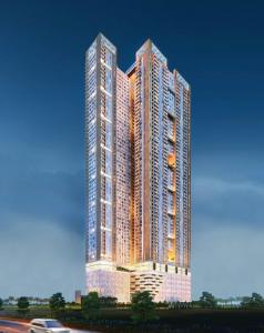 Gallery Cover Image of 675 Sq.ft 1 BHK Apartment for buy in Runwal Pinnacle, Mulund West for 9800000