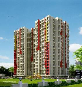 Gallery Cover Image of 665 Sq.ft 1 BHK Apartment for buy in Raj Vaibhav NX, Dombivli West for 4916880