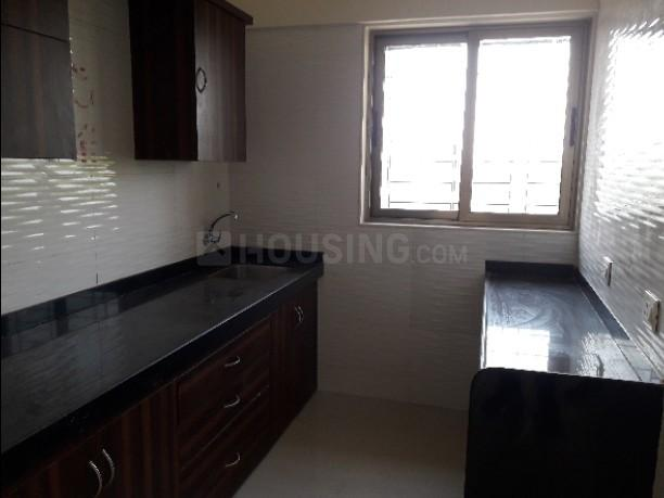 Kitchen Image of 600 Sq.ft 1 BHK Apartment for rent in Akurli for 6000