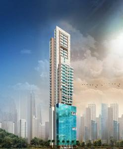 Gallery Cover Image of 1136 Sq.ft 2 BHK Apartment for buy in Ruparel Iris, Mahim for 32800000