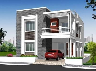Gallery Cover Image of 890 Sq.ft 2 BHK Villa for buy in Kamala Nagar for 4999999