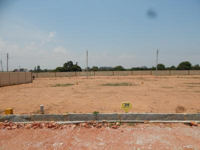 Gallery Cover Image of 1000 Sq.ft Residential Plot for buy in Krishnarajapura for 2300000