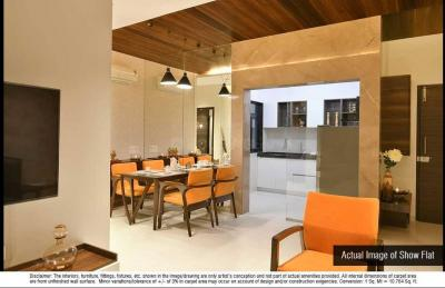 Gallery Cover Image of 1250 Sq.ft 3 BHK Apartment for buy in Dosti Desire Dosti Pearl, Thane West for 12800000