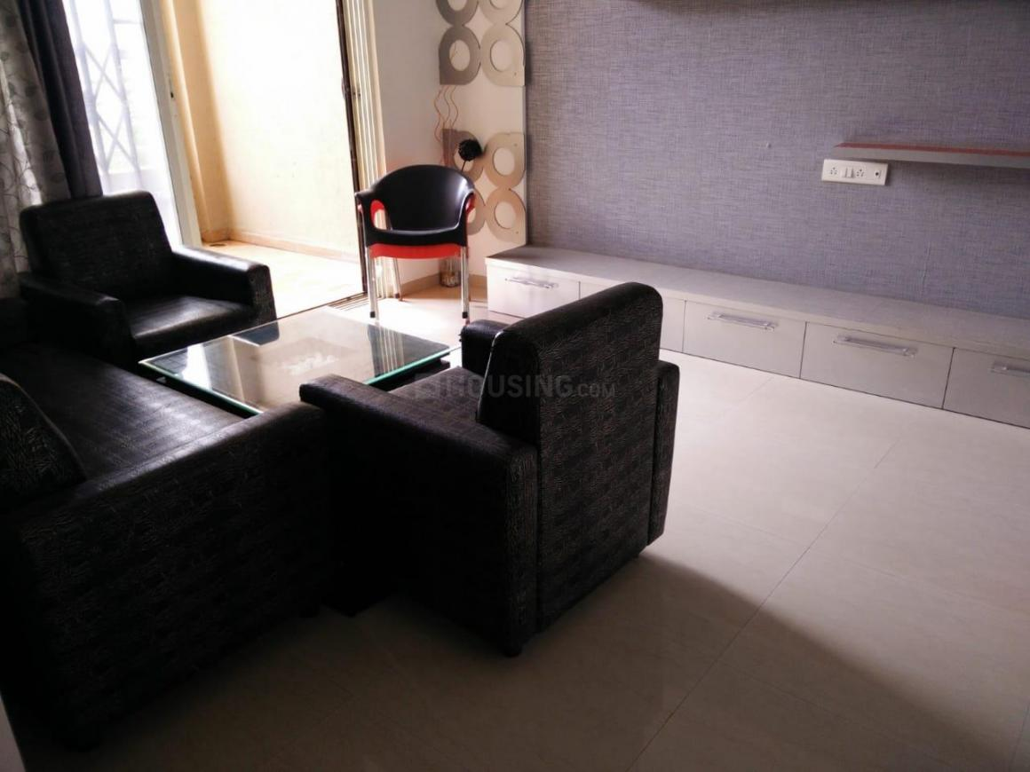 Living Room Image of 1500 Sq.ft 3 BHK Apartment for rent in Undri for 25000