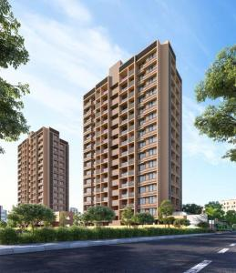 Gallery Cover Image of 1530 Sq.ft 3 BHK Apartment for buy in Aaryan Heights, Shilaj for 5430000