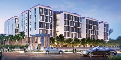 Gallery Cover Image of 1100 Sq.ft 3 BHK Apartment for buy in Purti Aqua 2, Kaikhali for 5300000