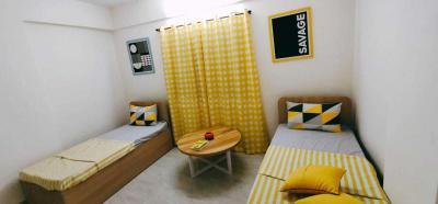 Bedroom Image of Oxfordcaps PG in Lohegaon
