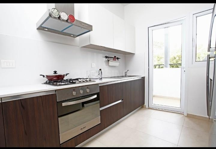 Kitchen Image of 663 Sq.ft 1 BHK Apartment for buy in Tirumanahalli for 4500000