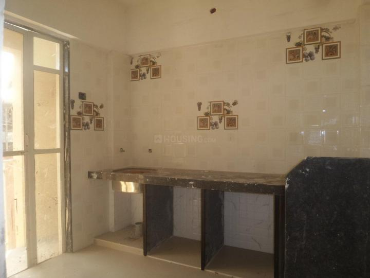 Kitchen Image of 650 Sq.ft 1 RK Apartment for rent in Vasai West for 8500