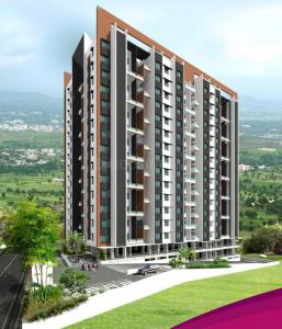 Gallery Cover Image of 420 Sq.ft 1 BHK Apartment for buy in Sus for 3400000