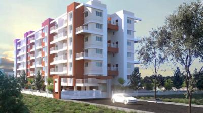 Gallery Cover Image of 688 Sq.ft 1 BHK Apartment for buy in Rohit Rohit Pinnacle, Thergaon for 3950000
