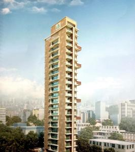 Gallery Cover Image of 2000 Sq.ft 3 BHK Apartment for buy in Omprakash Galaxy Aura, Nerul for 42600000