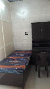 राजिंदर नगर में प्रेरणा पीजी के बेडरूम की तस्वीर