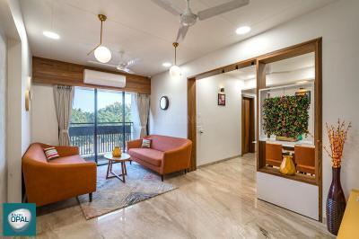 Gallery Cover Image of 1575 Sq.ft 3 BHK Apartment for buy in Rajvi Opal, Memnagar for 7796250