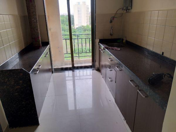 Kitchen Image of 1150 Sq.ft 2 BHK Apartment for rent in Kalwa for 21000