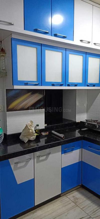 Kitchen Image of 600 Sq.ft 1 BHK Apartment for rent in Lower Parel for 55000