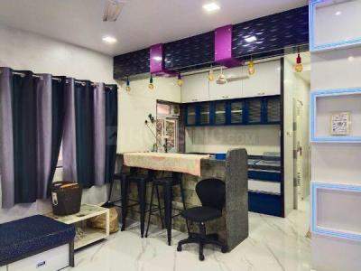 Gallery Cover Image of 650 Sq.ft 2 BHK Apartment for rent in Juhu Prajakta, Juhu for 55000