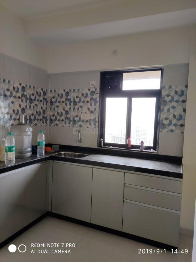 Kitchen Image of 620 Sq.ft 1 BHK Apartment for rent in Kalyan West for 8500
