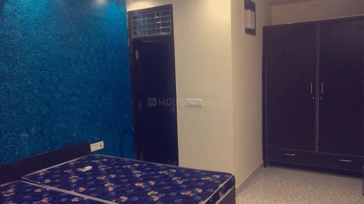 सेक्टर-12ए में राज रेसिडेंसी के बेडरूम की तस्वीर