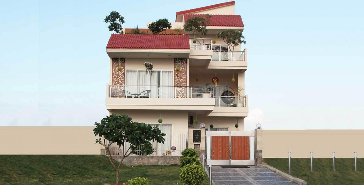 Building Image of 2547 Sq.ft 3 BHK Villa for buy in Yeida for 10900000
