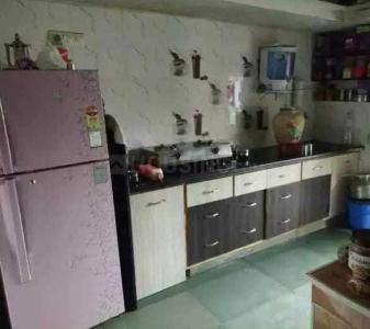 व्हाइटफ़ील्ड में बॉइज़ पीजी में किचन की तस्वीर