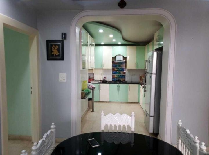 Kitchen Image of 1800 Sq.ft 3 BHK Apartment for rent in Sector 6 Dwarka for 40000