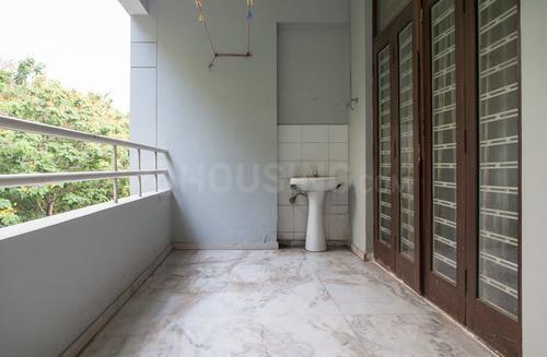 Balcony Image of Navina Residency Flat No 302 in Hakimpet