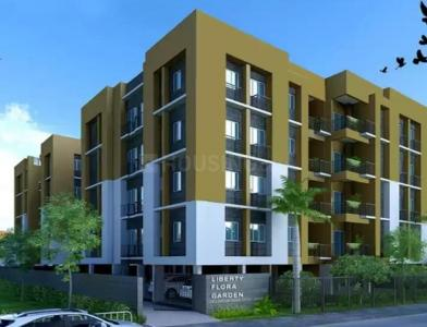 Gallery Cover Image of 970 Sq.ft 2 BHK Apartment for buy in Liberty Flora Garden, Ultadanga for 5626000