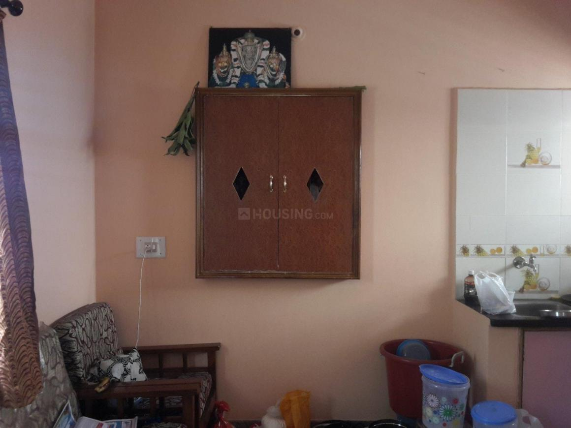 Living Room Image of 500 Sq.ft 1 BHK Apartment for rent in Banashankari for 6500