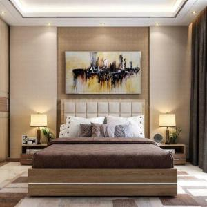 Bedroom Image of 996 Sq.ft 3 BHK Apartment for buy in Atmosphere O2, Mulund West for 27000000