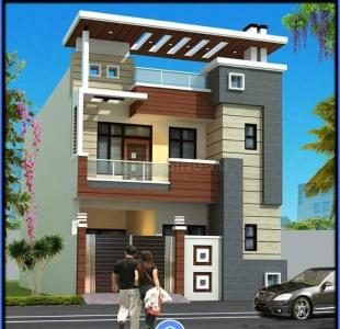 Gallery Cover Image of 110 Sq.ft 3 BHK Independent House for buy in Ganga Nagar for 3600000