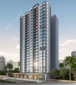 Gallery Cover Image of 675 Sq.ft 2 BHK Apartment for buy in Romell Empress, Borivali West for 17000000
