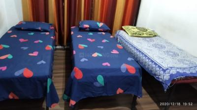Bedroom Image of 3bhk Available For Paying Guest Near Dev Corp Thane Ynh in Thane West