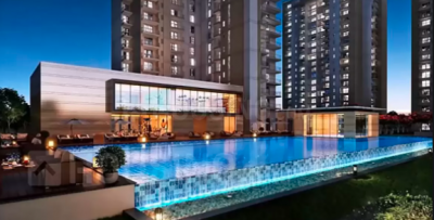Gallery Cover Image of 1448 Sq.ft 3 BHK Apartment for buy in Krisumi Waterfall Residences, Sector 36A for 18000000