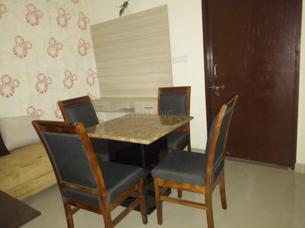 Dining Area Image of 1000 Sq.ft 2 BHK Independent Floor for buy in Mansarovar Extension for 2300000