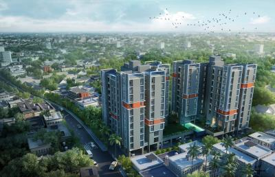 Gallery Cover Image of 1377 Sq.ft 3 BHK Apartment for buy in Purti Nest, Behala for 9639000