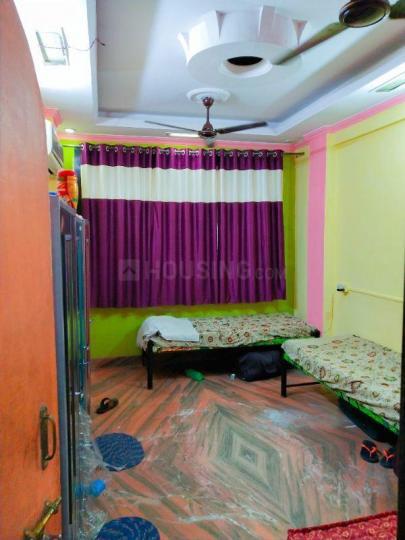घनसोली में पीजी लाइफ में बेडरूम की तस्वीर
