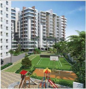 Gallery Cover Image of 1255 Sq.ft 2 BHK Apartment for buy in Sai Purvi Symphony, Thippasandra for 6515000