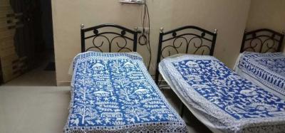 कॉपर खैरने में श्री कृष्ण पीजी में बेडरूम की तस्वीर