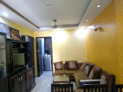 Living Room Image of 850 Sq.ft 2 BHK Independent Floor for buy in Sector 11 for 4500000