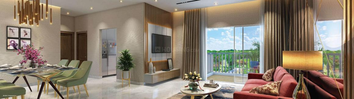 Living Room Image of 1107 Sq.ft 3 BHK Apartment for buy in Dombivli East for 8700000