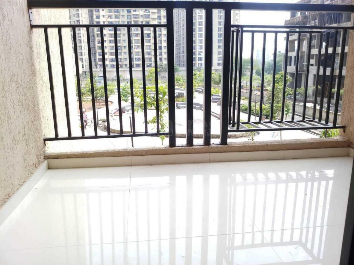 Balcony Image of 950 Sq.ft 2 BHK Apartment for rent in Kalyan West for 12000