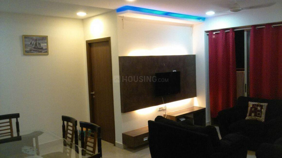 Living Room Image of 1500 Sq.ft 3 BHK Apartment for rent in Thane West for 100000