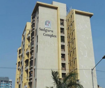 Gallery Cover Image of 665 Sq.ft 1 BHK Apartment for rent in Sadguru Complex, Mira Road East for 18000