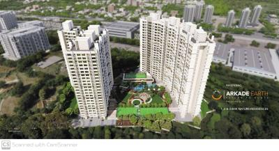 Gallery Cover Image of 1120 Sq.ft 3 BHK Apartment for rent in Arkade Earth, Kanjurmarg East for 46000